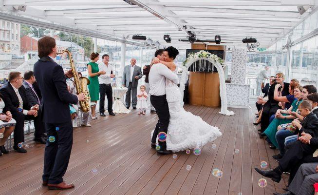 свадьба на теплоходе
