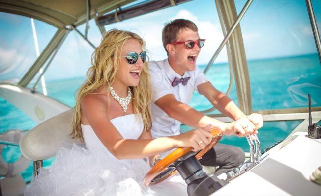 аренда катера на свадьбу