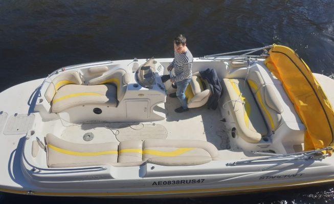 аренда катера аврора
