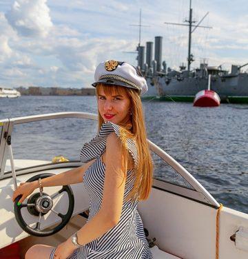 аренда катера без капитана спб