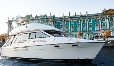 аренда яхты meridian 381