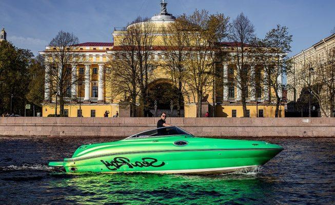 аренда катера sea ray 240