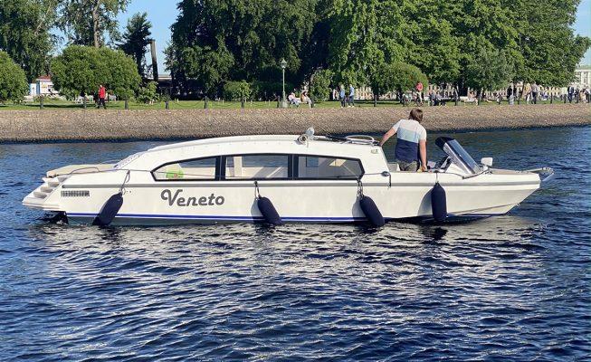 аренда катера veneto