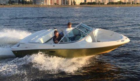 аренда катера sea ray 175